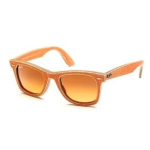 RAY-BAN WAYFARER DENIM ORANGE Unisex SUNGLASSES